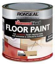 Ronseal Diamond Hard Floor Paint 750ml - Pebble